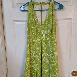 Laundry by Shelli Segal - Green Print Halter Dress